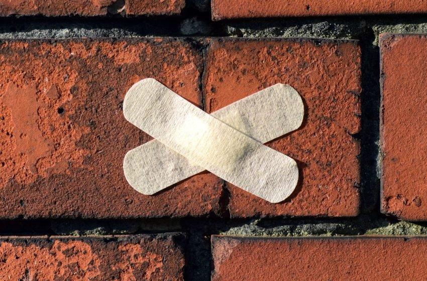 Pęknięcia na ścianach w nowym domu