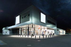 Design & Build - Budynek handlowo-usługowy Gliwice