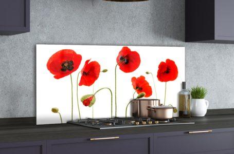 Szklany panel do kuchni – nowoczesne dekoracje domu