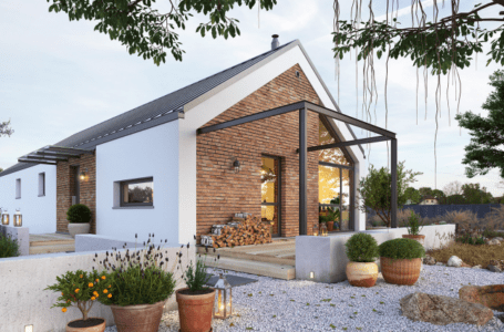 Domy parterowe z tarasem – piękno i wygoda