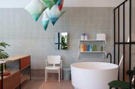 Urządzanie łazienki bez płytek. Co nam da zamiana kafelek łazienkowych na farbę?