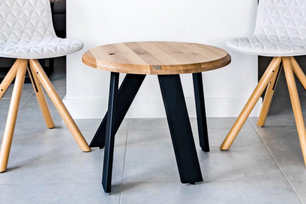 Meble loftowe do przedpokoju-stolik